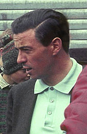 Portrait de Jim Clark.