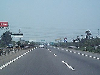 Expressways of China - Beijing section of the Jingjintang Expressway, 2004