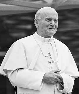 Pope John Paul II 264th Pope and saint of the Catholic Church