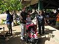 John, Caroline, Sam and Felicity at the Port Vila market, Vanuatu, 1 June 2006 (157837219).jpg