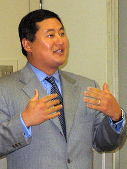 File photo of John Yoo, 2007.  Image: Mickwright.