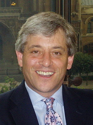 Speaker of the British House of Commons election, 2009 - Image: John Bercow