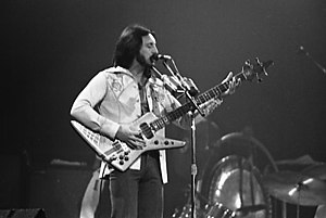 John Entwistle - Entwistle playing at Maple Leaf Gardens, Toronto 1976