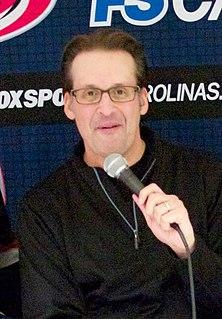 John Forslund American sports announcer