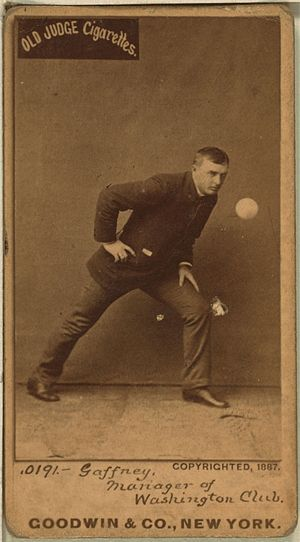 John Gaffney - John Gaffney baseball card