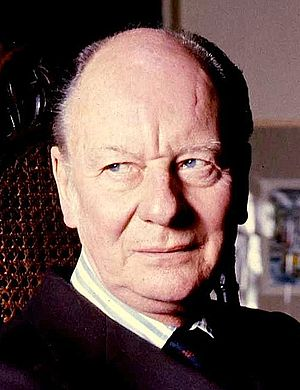English: portrait of Sir John Gielgud
