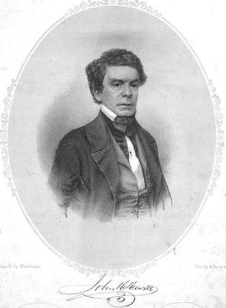 John Hill Hewitt - John Hill Hewitt, 1852