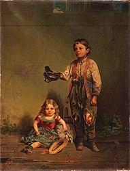 John Mix Stanley: Beggar Boy