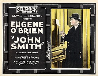 <i>John Smith</i> (film) 1922 American silent comedy film directed by Victor Heerman