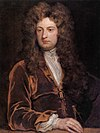 Sir John Vanbrugh in Godfrey Kneller's Kit-cat portrait.