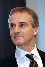 Puolueen puheenjohtaja Jonas Gahr Støre