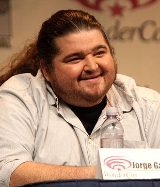 Jorge Garcia - Garcia at the 2012 WonderCon in March 2012.