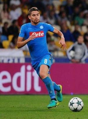 Jorginho (footballer, born 1991) - Image: Jorginho 2016