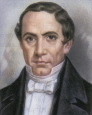 José María Bocanegra - Portrait of José María Bocanegra