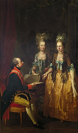 Joseph II of Habsburg Lorraine and sisters.jpg