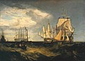 Joseph Mallord William Turner (1775-1851) - Spithead, Two Captured Danish Ships Entering Portsmouth Harbour - N00481 - National Gallery.jpg