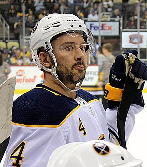 Josh Gorges - Gorges with the Sabres in 2017