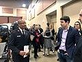 Joshua Harder visiting the Salvation Army in Modesto, California.jpg