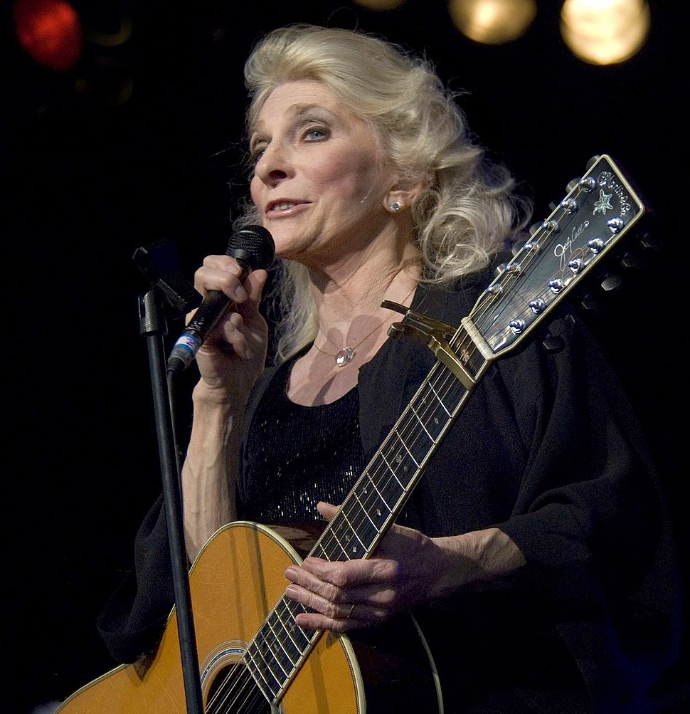 Judy Collins by Bryan Ledgard 2 (cropped)