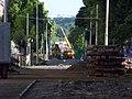 Jugoslávských partyzánů, rekonstrukce trati (02).jpg