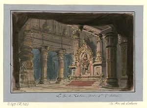 Le roi de Lahore - Design by Philippe Chaperon for Act V