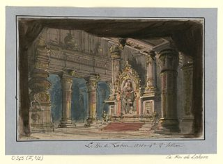 <i>Le roi de Lahore</i> opera by Jules Massenet