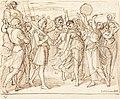 Julius Schnorr von Carolsfeld, The Triumph of David, 1826, NGA 94158.jpg