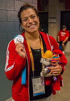 Justina Di Stasio at 2015 Pan Am Games.jpg