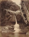 KITLV 92136 - Unknown - Waterfall at Coonoor in India - Around 1870.tif