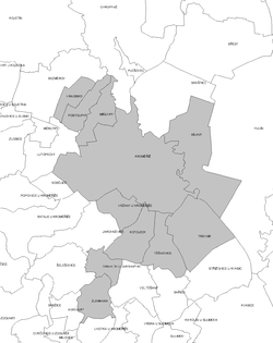Location of Zlín