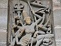 Kailasanatha Temple, dedicated to Shiva, Pallavve period, early 7th century, Kanchipuram (56) (36787469553).jpg