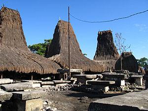 West Sumba Regency - Image: Kampung Tarung Waitabar