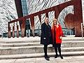 Karen Bradley MP visits Titanic Belfast (26567320197).jpg