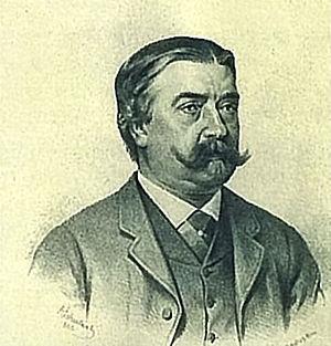Baron Karl von Hasenauer - Baron Karl von Hasenauer (1880)
