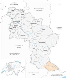 Map of Schangnau