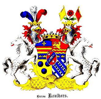 Alexander von Kaulbars - Image: Kaulbars Wappen