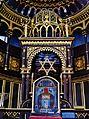 Kaunas Synagoge Innen Thoraschrein 4.JPG