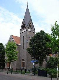 Keldonk (N-Br, NL) church, edge view.JPG