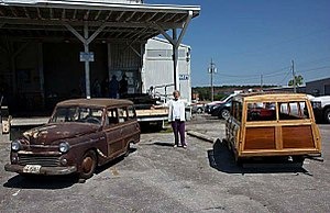 "Keller (automobile) - Photo from a ""Keller Reunion"" in 2013 at the original Keller plant in Huntsville AL."
