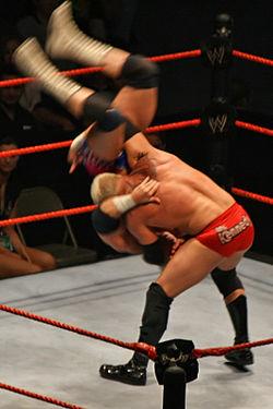 WWEのケン・ケネディによるボディスラム 派生技[編集] 主な派生技[編集] パワースラム スク