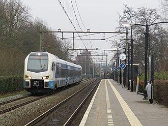 Keolis - Stadler Flirt EMU at Almelo de Riet station