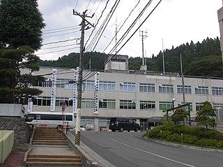 Kesennuma City in Tōhoku, Japan
