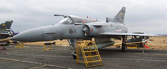 IAI Kfir - Ecuadorian Air Force Kfir CE (C.10). Note the refuelling probe and the characteristic longer nose of this variant.