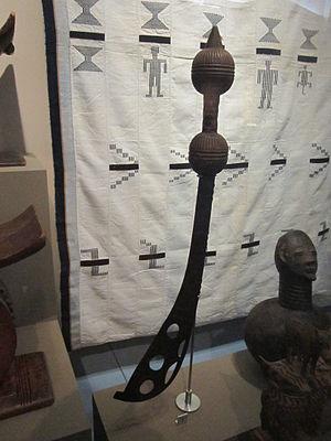 Akrafena - Image: King's messenger sword (Fante, Anomabu, Ghana), World Museum Liverpool