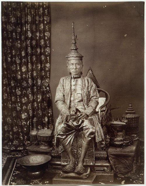 King Mongkut on his Throne
