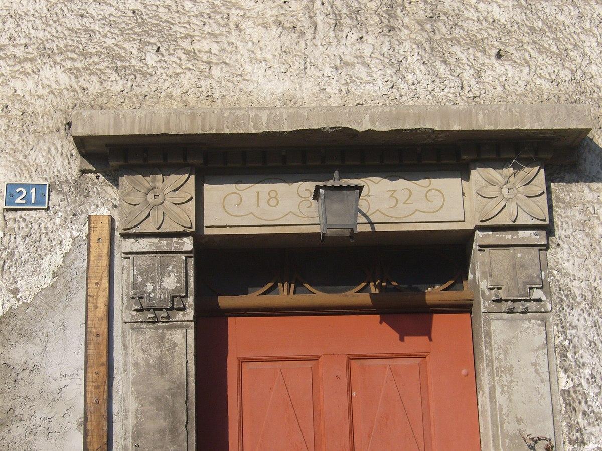 Linteau wiktionnaire for Pluriel de porte fenetre