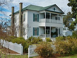 Highland Home, Alabama - Located in Highland Home, the Kirkpatrick House was built c. 1869 and added to the National Register of Historic Places on February 25, 1975.