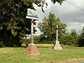 Kirtling and Upend village sign and War Memorial - geograph.org.uk - 525575.jpg