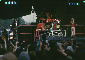 Kix (band) - Kix performing in 1983
