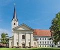 Klagenfurt Viktring Stiftskirche West-Ansicht 02092016 4035.jpg